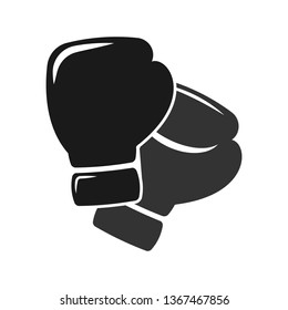 Boxing gloves vector icon. Boxing symbol. Linear style sign for mobile concept and web design. Box gloves symbol logo illustration. vector graphics - Vector.