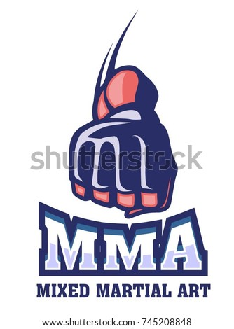 boxing hand of mixed