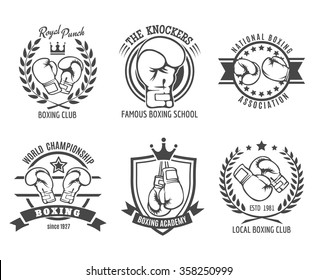 Boxing labels and boxing badges