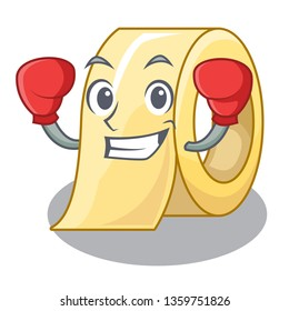 Boxing masking tape in the shape characters