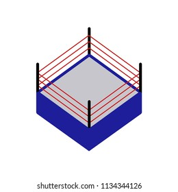 Boxing ring icon vector icon. Simple element illustration. Boxing ring symbol design. Can be used for web and mobile.