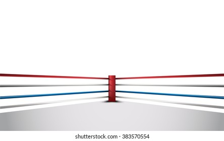 Boxing ring vector design