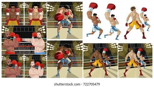 boxing scenes