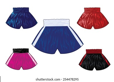 boxing shorts set