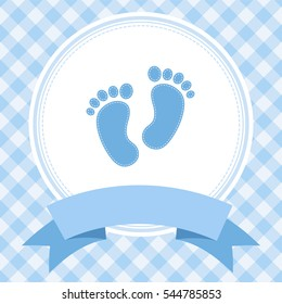boy baby shower invitation card