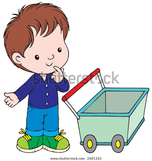 boy with the carriage