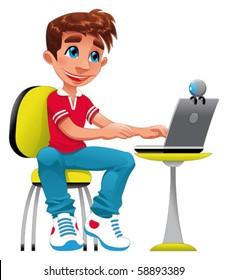 Computer Cartoon Hd Stock Images Shutterstock