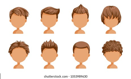 Imagenes Fotos De Stock Y Vectores Sobre Men Hair Styles