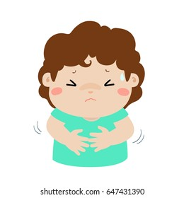 Child Stomach Pain Images Stock Photos Vectors Shutterstock