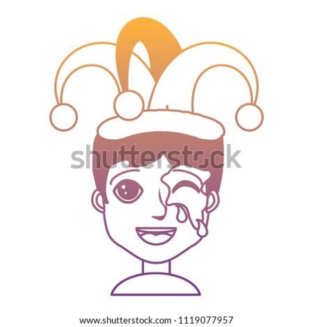 Boy Jester Hat Design Vector de stock (libre de regalías)1119077957 ... 61d673c17cf