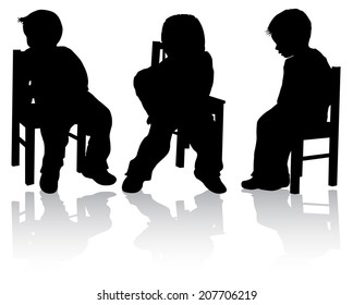Boy on the chair
