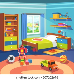 Kids Bedroom Images, Stock Photos & Vectors   Shutterstock