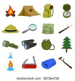 Boy Scout Icon Vector Design