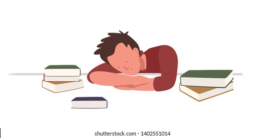 Ilustraciones, imágenes y vectores de stock sobre Student Taking a