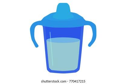 Boy's Blue Sippy Cup/Mug