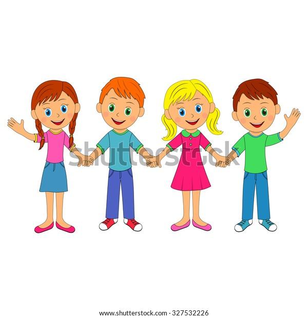 Love Couple Little Boy Hold Hands Girl Stock Illustrations – 65 Love Couple  Little Boy Hold Hands Girl Stock Illustrations, Vectors & Clipart -  Dreamstime