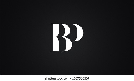 BP Letter Logo Design Template Vector