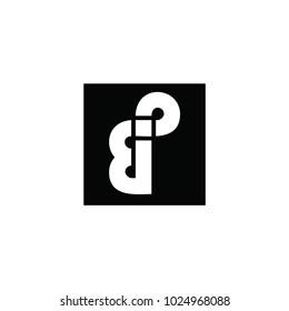 bp letter vector logo