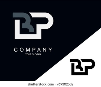 BP Logo Letter Design Template Element