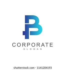 BP Logo template, PB Logo template