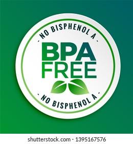 bpa bisphenol-a and phthalates free badge seal label
