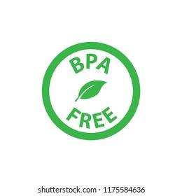 BPA FREE icon logo vector template