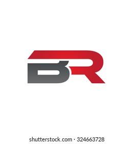 BR company linked letter logo