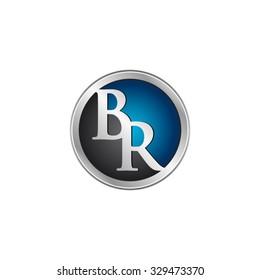 BR initial circle logo