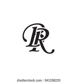 BR initial monogram logo