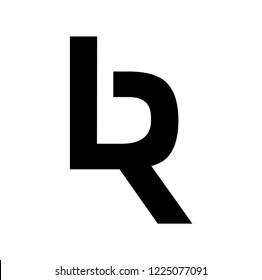 br letter vector logo