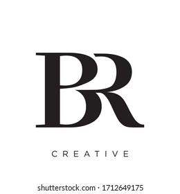 br logo design vector icon design