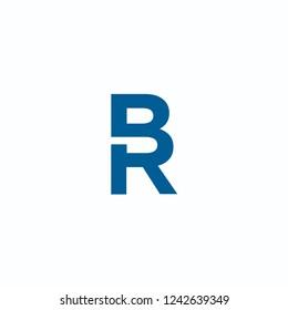 BR Logo Letter Design