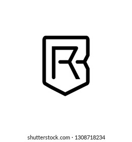 BR logo , br vector, br sophisticated and luxurious