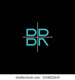 BR or RB logo and icon designs