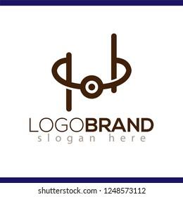 bracelet logo icon vector template