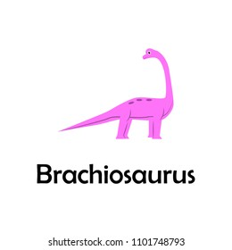brachiosaurus illustration. Element of travel icon for mobile concept and web apps. Thin line brachiosaurus icon can be used for web and mobile. Premium icon on white background