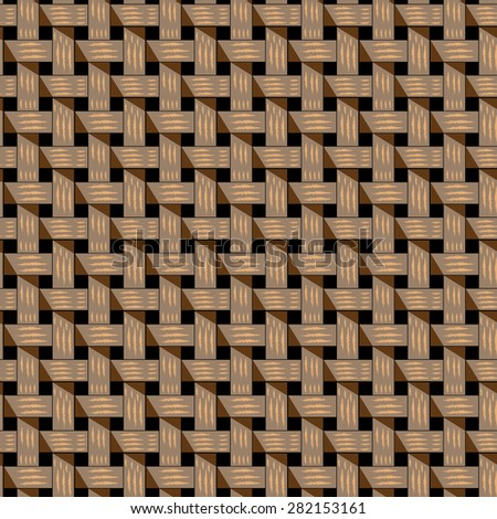 4cacfd16a03de Braided Pattern Lattice Structure Basket Structure Stock Vector ...