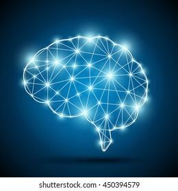 Brain of an artificial intelligence