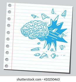 Brain breaking through