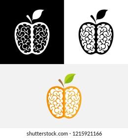Brain Fruit Logo