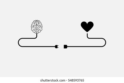 brain and heart icon