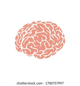 Brain Icon for Graphic Design Projects