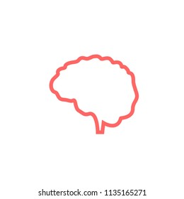 Brain Icon Logo Design Element