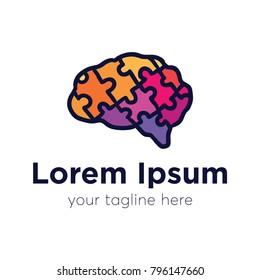 Brain Jigsaw Puzzle Color
