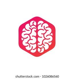 Brain logo design