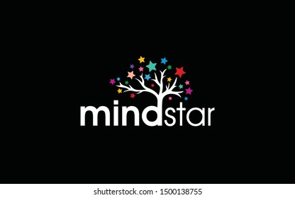 Brain logo is shaped to resemble a star-leafed tree