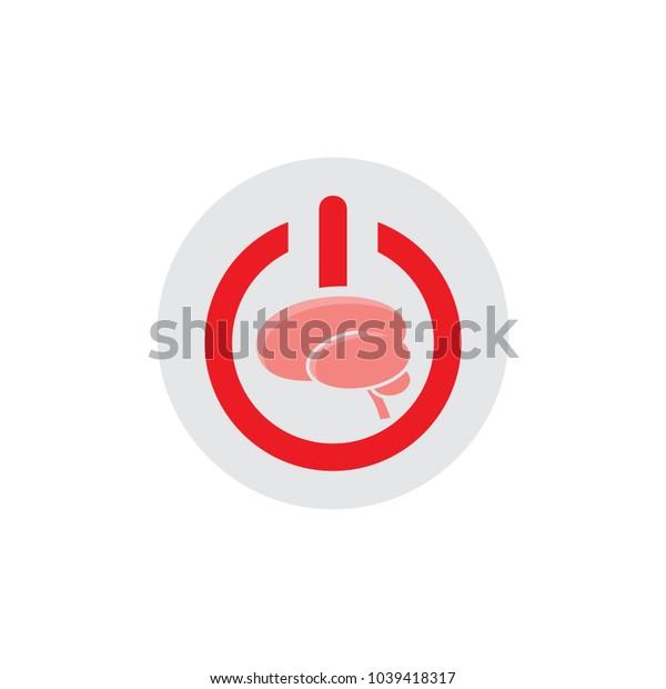 Brain Power Logo Icon Design