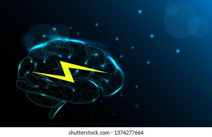Vectores Imagenes Y Arte Vectorial De Stock Sobre Brain