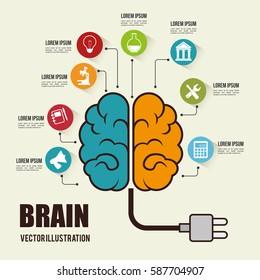 brain storming concept icon