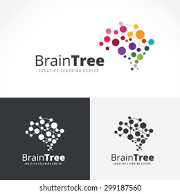 Brain Tree Creative Learning Logo Template